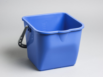 Picture of M2 Commercial Heavy Duty Pail, 16 Quart / 15 Liter - Blue