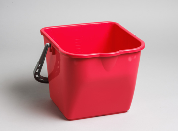 Picture of M2 Commercial Heavy Duty Pail, 16Qt/15L - Red