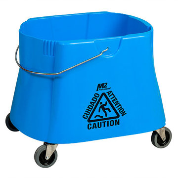 Picture of Elephant Foot Bucket, 40 Quart, Blue