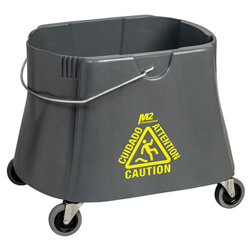 Picture of Elephant Foot Bucket Only, 40 Quart, Gray