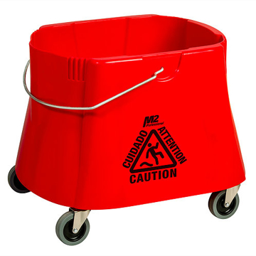 Picture of Elephant Foot Bucket Only, 40 Quart, Red