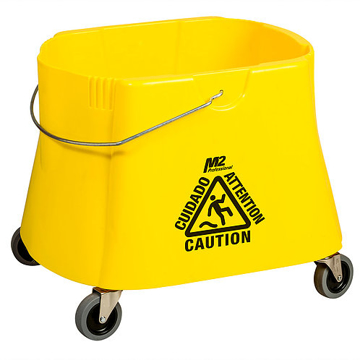Picture of Elephant Foot Bucket Only, 40 Quart, Yellow