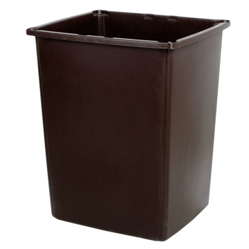 Picture of Rubbermaid Glutton 56-Gallon Container - Brown
