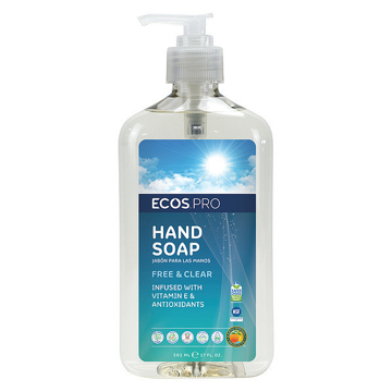 Picture of ECOS PRO Hand Soap, Free & Clear - 6/17oz Pump