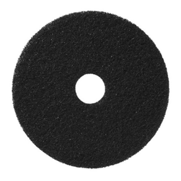 "Picture of 17"" Black Bissell BigGreen Stipping Pads 5 Pack"