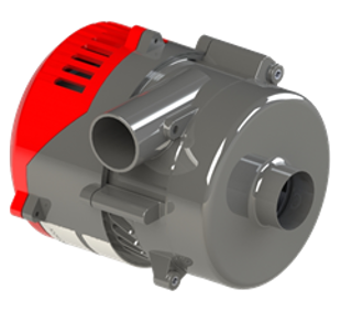 Picture of Ametek Windjammer PRO Brushless Blower - WP057BU1-2N21A-0004
