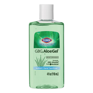 Picture of Clorox GBG AloeGel Instant Hand Sanitizer - 4 oz Bottle
