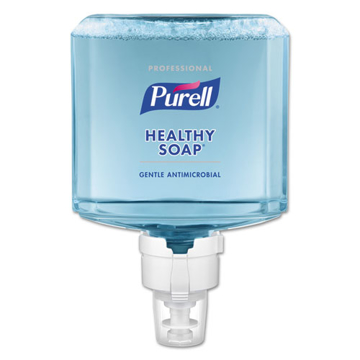 Picture of Purell Healthcare HEALTHY SOAP 0.5% BAK Antimicrobial Foam Refill, Plum Fragrance - 1200 mL, 2/Carton